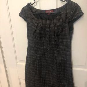 Merona plaid short sleeve dress